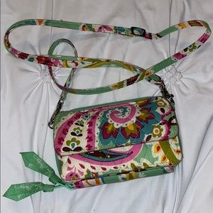 Vera Bradley Phone Wallet With Purse String